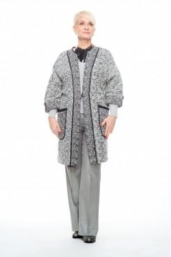 Кардиган NITA  Л 792-20 серый меланж