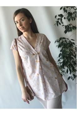 Блуза NITA Л 822-20 кремовый
