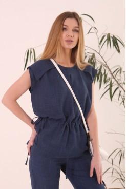 Блуза Л 850-21 джинс