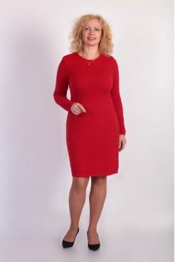Платье NITA Л 074-1 красное