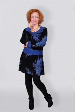 Платье-туника с длинным рукавом NITA Л 386