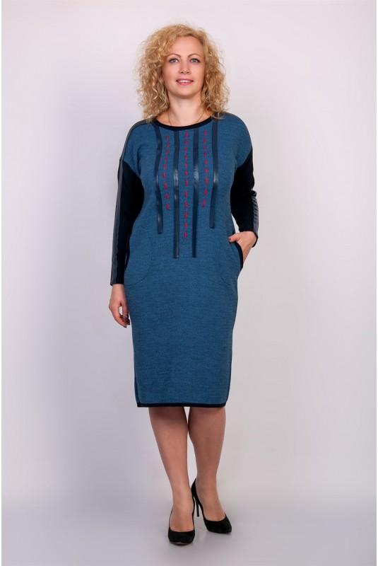 Платье NITA Л 647-19 джинс