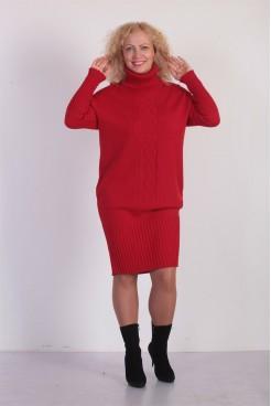 Платье NITA Л 702-18 вишня