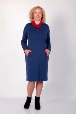 Платье NITA Л 752-19 синее