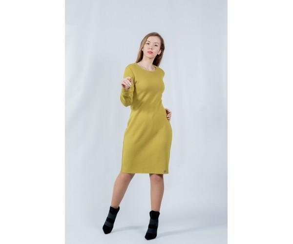 Женское платье NITA Л 799-20 горчица