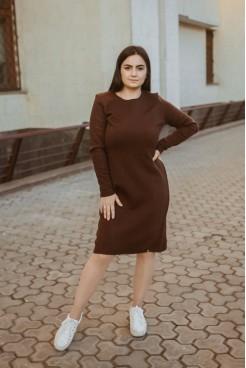 Платье  NITA  Л 799-20 шоколад