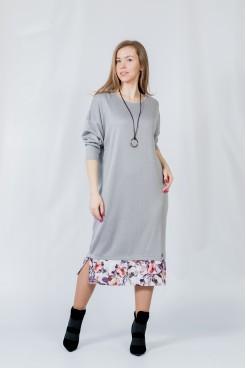 Платье NITA Л 804-20 серебро