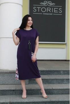 Платье NITA Л 810 филетовое