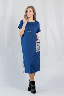 Платье NITA Л 810 синее