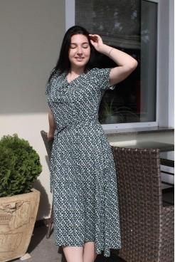 Платье  NITA Л 827-20 зелёный