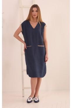 Платье NITА Л 851-21 джинс