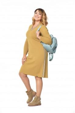 Платье  NITA Л 787-19 янтарный