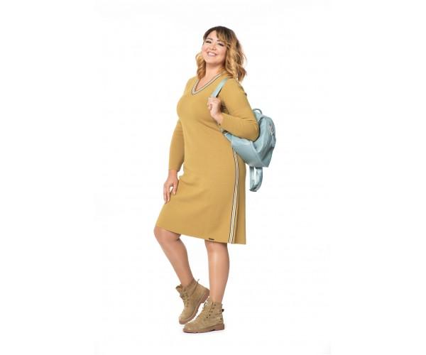 Женское платье Л 787-19 янтарный