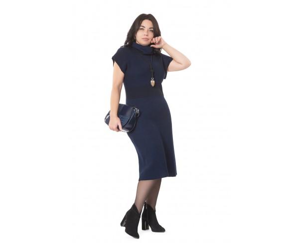 Сарафан с люрексом NITA Л 779-19 темно-синий
