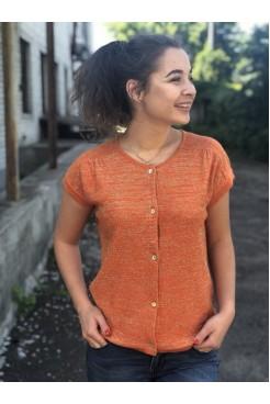 Жакет NITA Л 673-18 мандарин