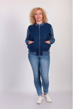 Куртка NITA Л 730-19 джинс