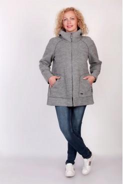 Куртка NITA Л 732-19 светло-серая